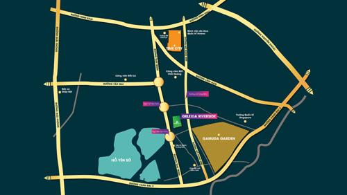 Quy hoạch vị trí Gelexia Riverside