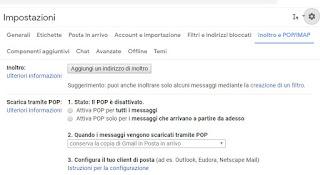 inoltro Gmail