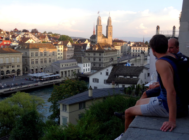 City View Lindenhof Hill Zurich