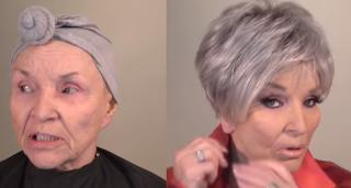 Πριν και μετά. Γιος κινηματογραφεί την θεαματική μεταμόρφωση της 78χρονης μητέρας του με μακιγιάζ