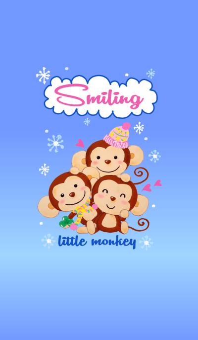 Smiling little monkey~Snow