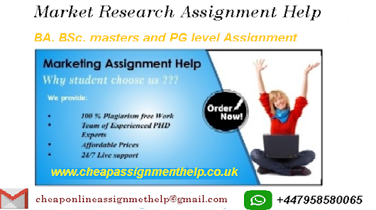 Market Research Assignment Help