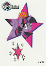 MLP Tattoo Card 4 Series 4 Trading Card