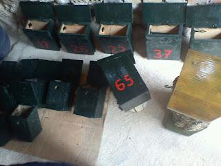 mantenimiento de cajas nido