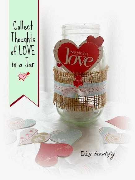 Make a Love Jar - thoughtful family project
