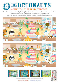 Octonauts printable activities