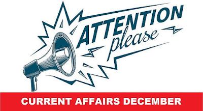 Current Affairs Capsule December 2017 PDF