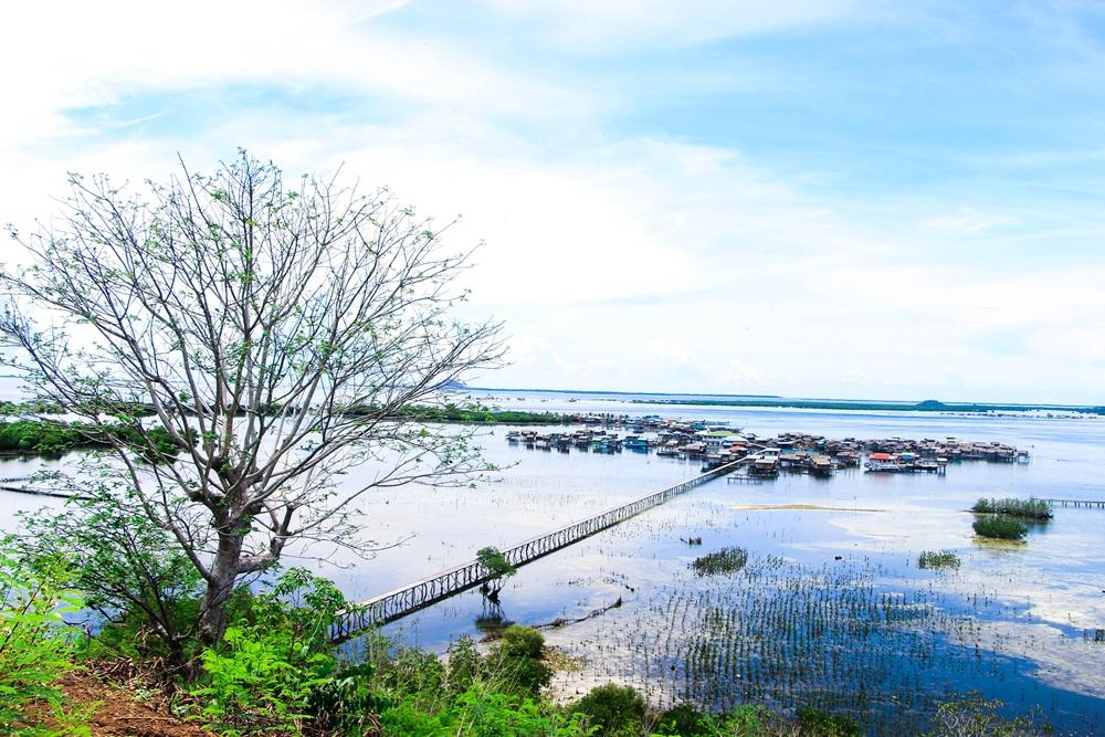 Bangas Island in Sulu Province