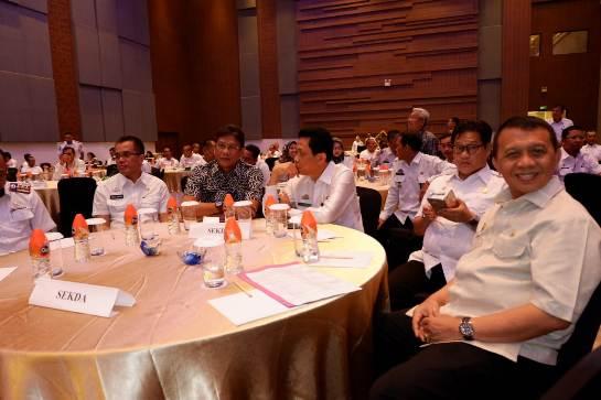 Bupati Kep. Selayar, Ikut Rakor UKPBJ di Makassar