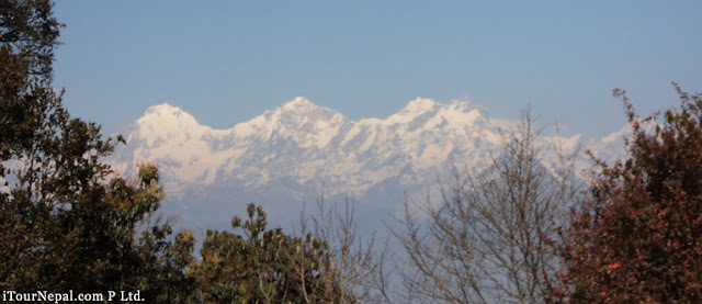 Ganesh Himal as seen from the shivapuri hill north of Kathmandu.