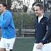 Ο Μητσοτάκης έπαιξε ποδόσφαιρο στον αγώνα της ΝΔ με την Εθνική Ομάδα Αστέγων (video+photos)