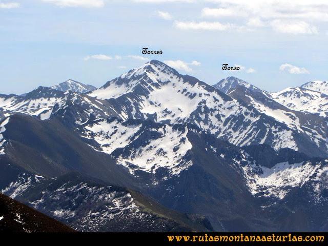 Ruta Retriñon: Vista del Torres y Toneo