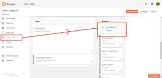 cara memasang widget komentar di blogspot