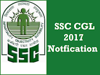 SSC CGL Recruitment 2017  - Know your exam venue and date