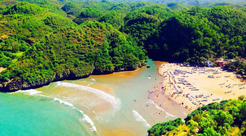 Pantai Baron (Lanjut) cewek cantik dan manis
