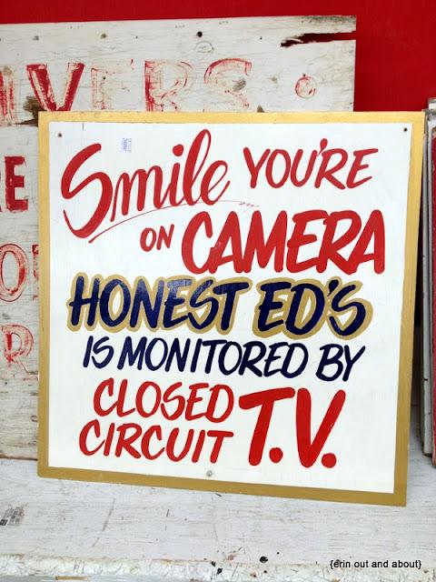 {ErinOutandAbout} Honest Ed's, Toronto