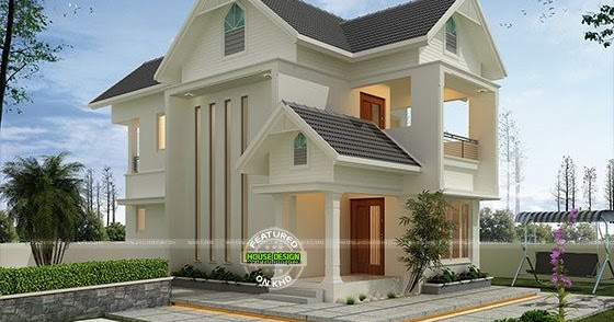 Super cute modern home 2000 sq ft kerala home design and for 2000 sq ft contemporary house plans