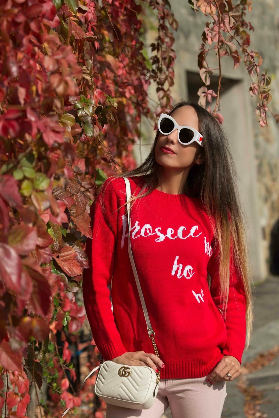 come indossare rosso e rosa