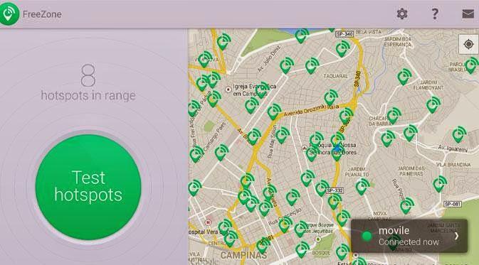 Jika di sekitar Anda banyak hotspot gratis Cara Praktis Mencari Koneksi WiFi Gratisan