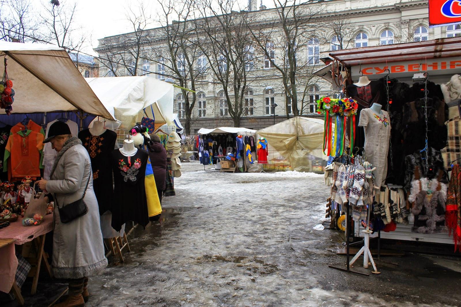 Lwów bazar