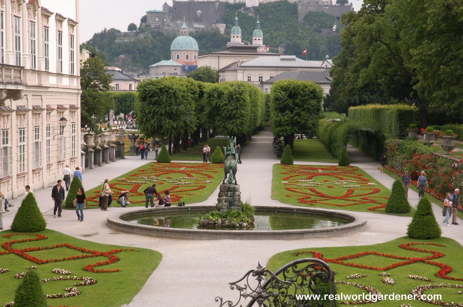 Real World Gardener Formal Garden Style In Design Elements