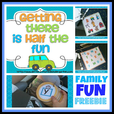 "photo of: ""Getting There is Half the Fun"" Family Fun Freebie for Car Trips"
