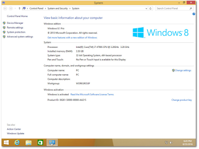 Windows 8.1 X86/X64 9in1 OEM en-US Aug 2016 - Generation2