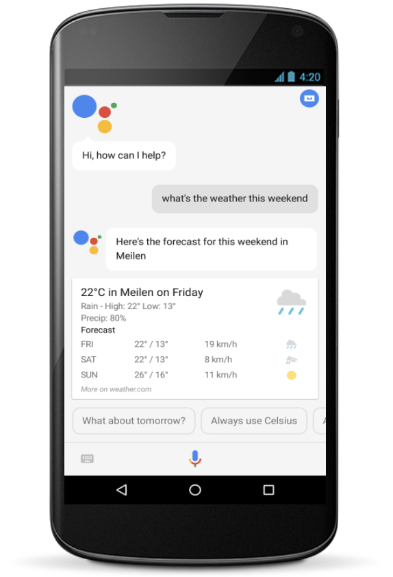 Google AI Blog: Evaluation of Speech for the Google Assistant