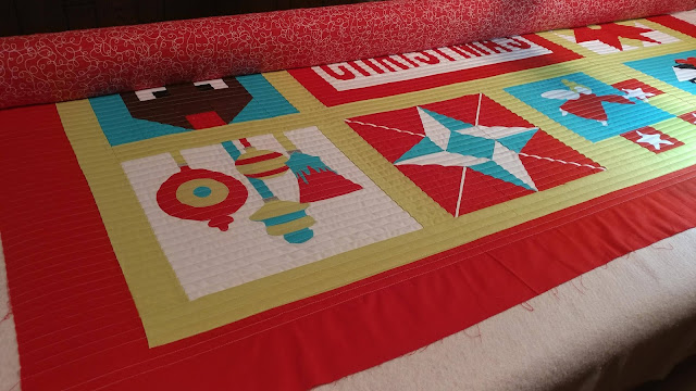 I Wish You a Merry QAL - Finished Quilt!