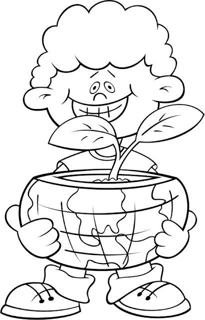 El Rincón De La Educadora Preescolar Dibujos Medio Ambiente Para