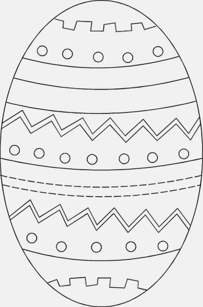 Hermosa Huevo De Pascua Para Colorear Crayola Bandera - Dibujos Para ...