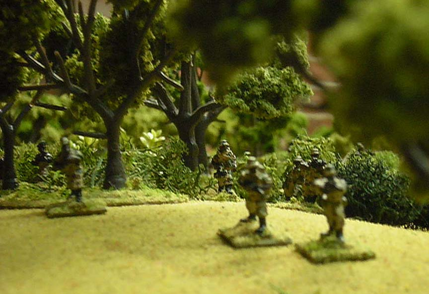 Uwanda Infantry Advancing