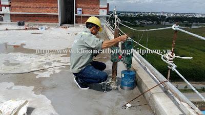 Khoan cắt bê tông tại huyện Chơn Thành