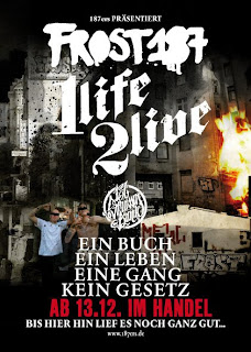 flyer frost 187 buch 1 life 2 live