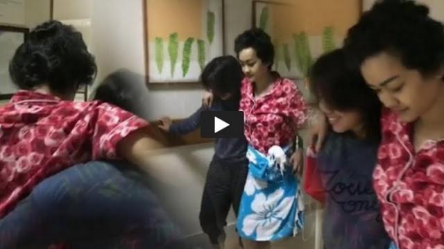 Video Memprihatinkan Kondisi Julia Perez Terkini, Berjalan Tertatih-tatih, Selang Infus Terus Nancap