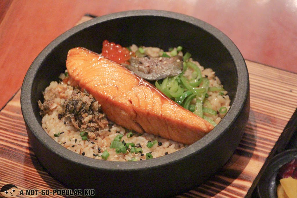 A closer look at the Salmon Don of Yabu