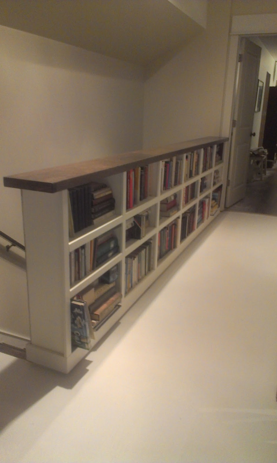 Bookcase Stairs Elephant Buffet: How To Keep From Falling Down A Staircase