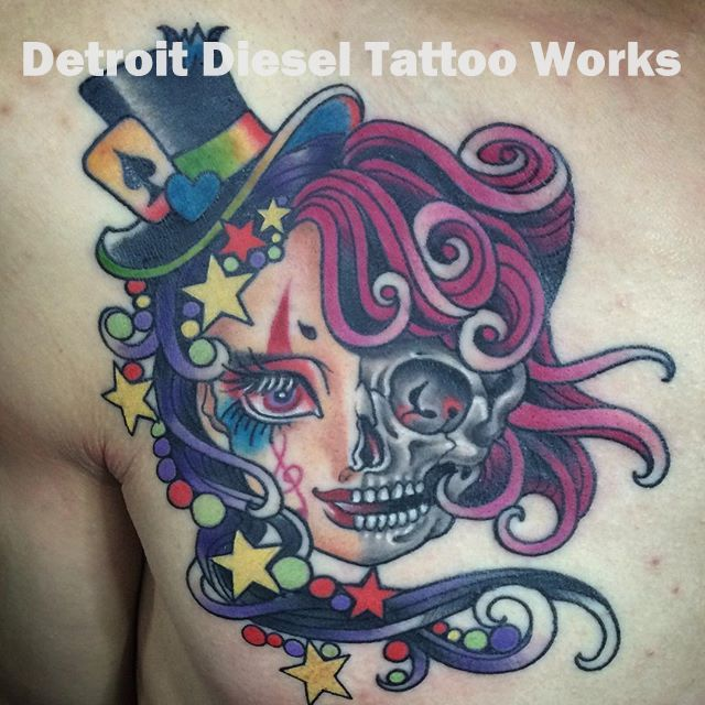 detroit diesel tattoo works mica