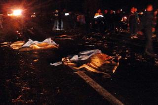 Camion atropella a peregrinos en la Puebla-México; Cuatro muertos