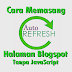 Cara Memasang Auto Refresh Halaman Blogspot Tanpa JavaScript