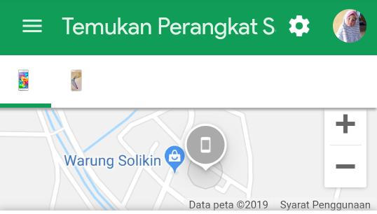 Menggunakan Temukan Perangkat Saya Lewat Akun Google Yang Baik dan Benar di Android