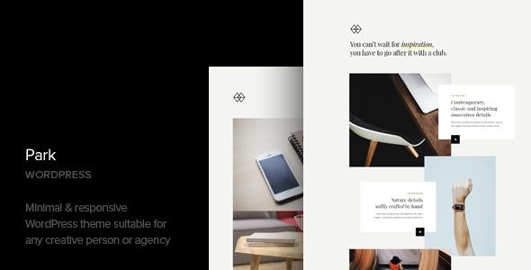 Park Creative Portfolio Responsive WordPress Themes