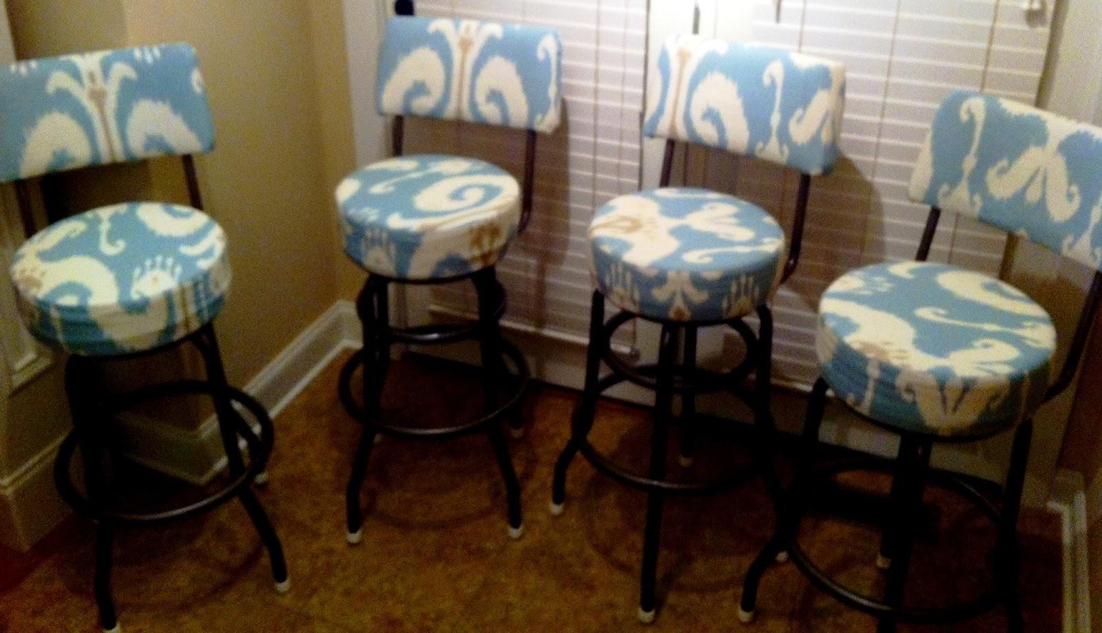 Craigslist Knox Tn >> Decorella: Latest Project: Barstools Makeover