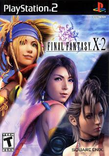 """Portada del DVD de PS"""" Final Fantsy X-2, 2003"""
