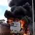 Urgente ônibus é incendiado por criminosos no Bairro Nordeste
