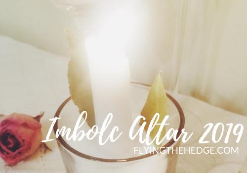 Imbolc Altar 2019