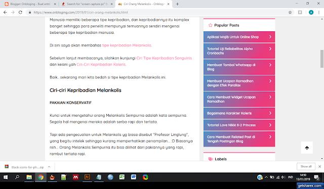 Screen capture ShareX