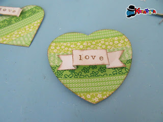 cuore in washi tape per personalizzare matrimonio