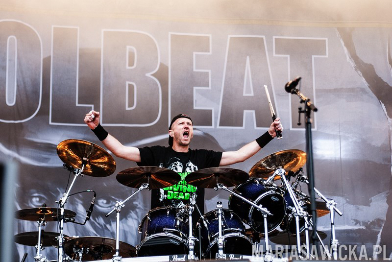 Sauna Open Air 2013 Tampere Ratina Stadium Volbeat