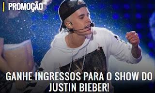 Cadastrar Promoção Mix FM 2017 Ingressos Show Justin Bieber
